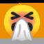 Sneezing Face Emoji (Google)