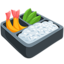 Bento Box Emoji (Messenger)