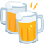 Clinking Beer Mugs Emoji (Messenger)