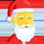 Santa Claus Emoji (Messenger)