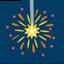 Sparkler Emoji (Messenger)