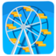 Ferris Wheel Emoji (Messenger)