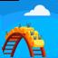 Roller Coaster Emoji (Messenger)