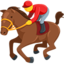 Horse Racing Emoji (Messenger)