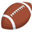 American Football Emoji (Messenger)
