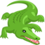 Crocodile Emoji (Messenger)