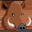 Boar Emoji (Messenger)