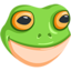 Frog Face Emoji (Messenger)