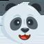 Panda Face Emoji (Messenger)