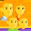 šeima Emoji (Messenger)