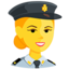 Police Officer Emoji (Messenger)
