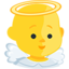 Baby Angel Emoji (Messenger)