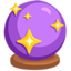 Crystal Ball Emoji (Messenger)