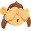 See-No-Evil Monkey Emoji (Messenger)