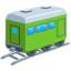 Railway Car Emoji (Messenger)