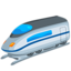 High-Speed Train Emoji (Messenger)