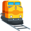 Train Emoji (Messenger)