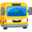 Oncoming Bus Emoji (Messenger)