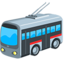 Trolleybus Emoji (Messenger)