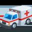 greitosios pagalbos automobilis Emoji (Messenger)
