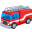 Fire Engine Emoji (Messenger)