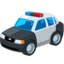 Police Car Emoji (Messenger)
