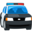Oncoming Police Car Emoji (Messenger)