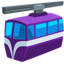 Suspension Railway Emoji (Messenger)