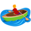 Person Rowing Boat Emoji (Messenger)