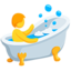 Person Taking Bath Emoji (Messenger)