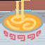gőzölgő tál Emoji (Twitter, TweetDeck)