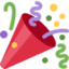 Party Popper Emoji (Twitter, TweetDeck)