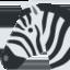 zebra Emoji (Twitter, TweetDeck)